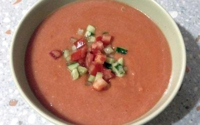 Gaspacho, mâncarea țăranilor spanioli